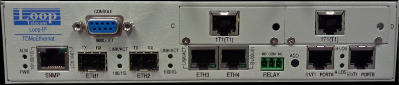 IP-6704 T1/E1 via Ethernet