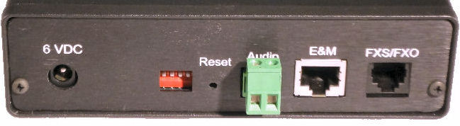 Audio Fxs Fxo Or E Amp M To Serial Or Ethernet Converter
